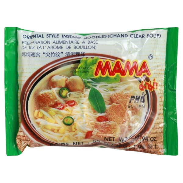 Mama Instant Chand Rice Vermicelli Clear Soup 55 Gr