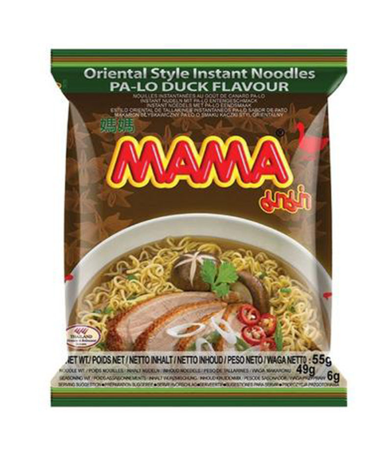 Mama Instant Noodles Pa-Lo Duck 55 G