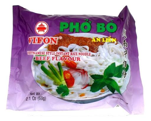 Vifon Pho Bo Beef Noodles 60 Gr