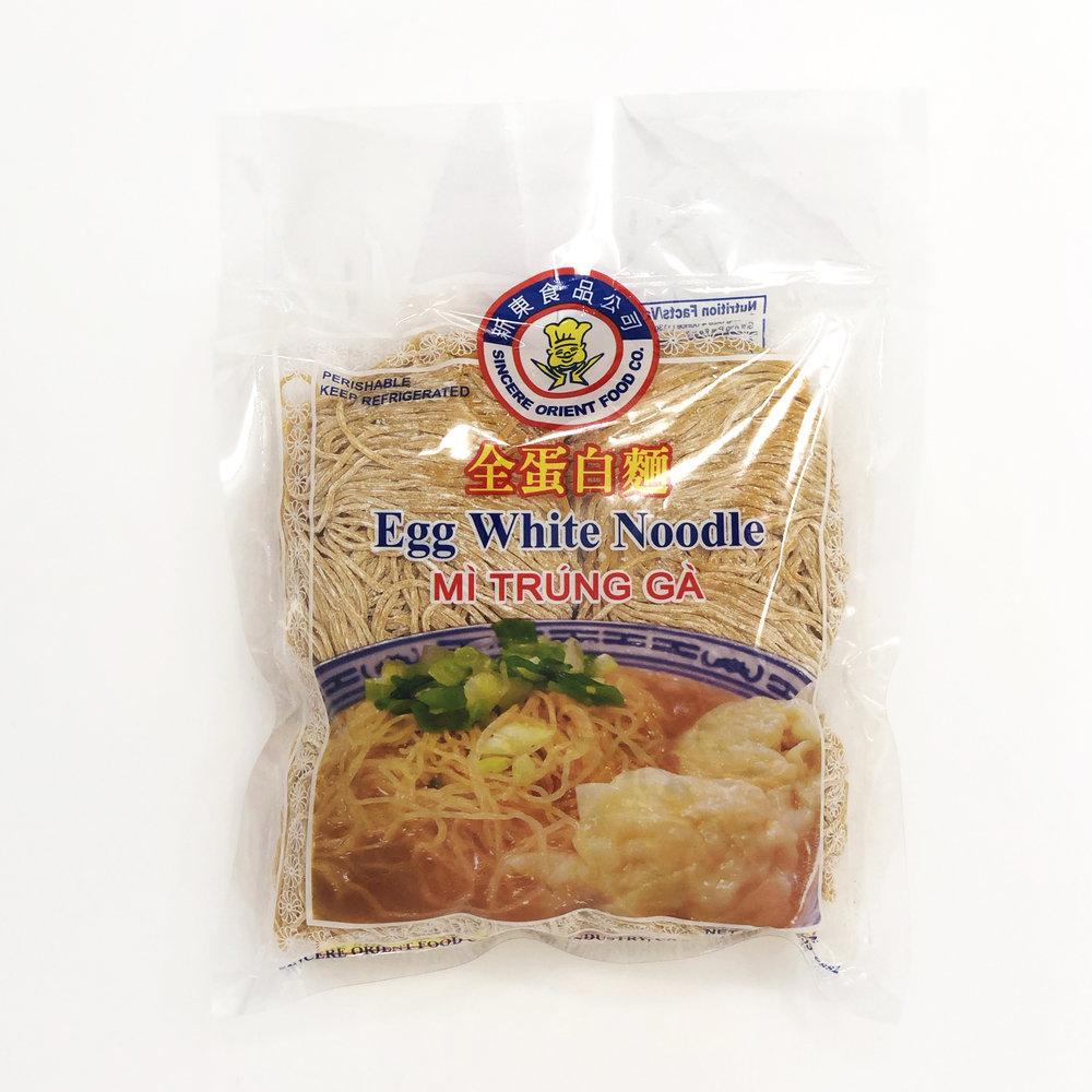 Sincere Oriental Steam Egg Noodle 15 Oz [COLD]
