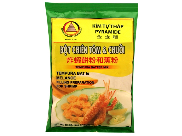 Kim Tu Thap Tempura Batter Mix / Bot Chien Tom & Chuoi 12 Oz