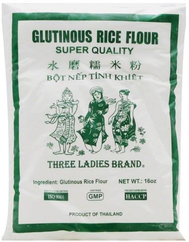 Three Ladies Glutinous Rice Flour / Bot Nep Tinh Khiet 16 Oz