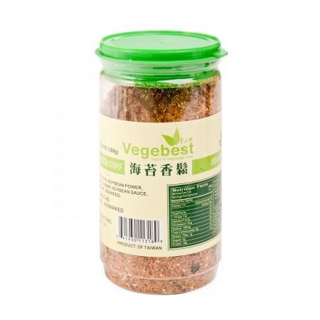 Vegebest Textured Soy Bean Seaweed Strips Protein 300 Gr