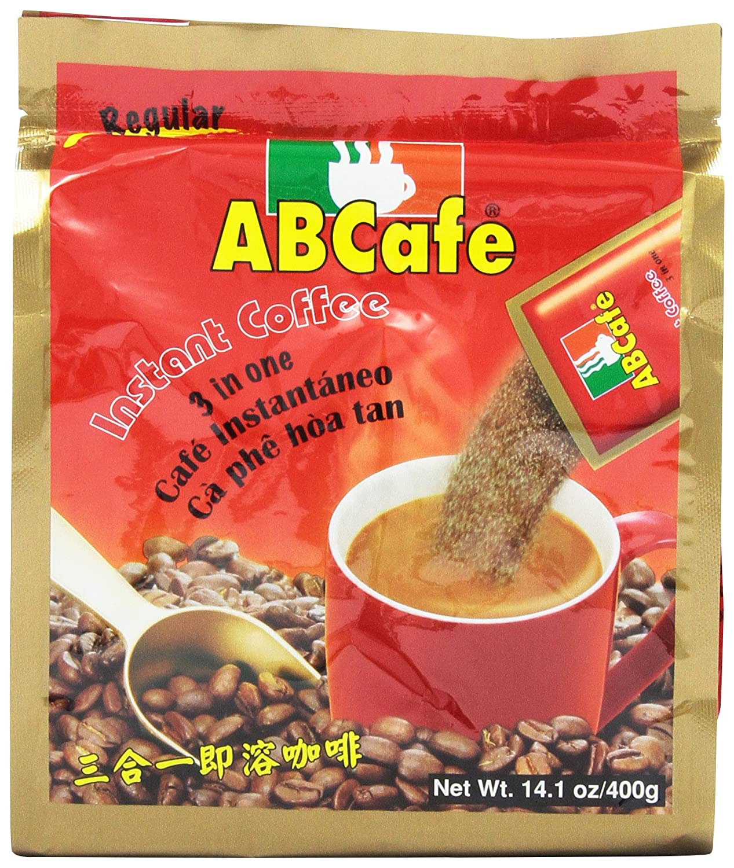 Abcafe Instant Coffee Regular 14.1 Oz