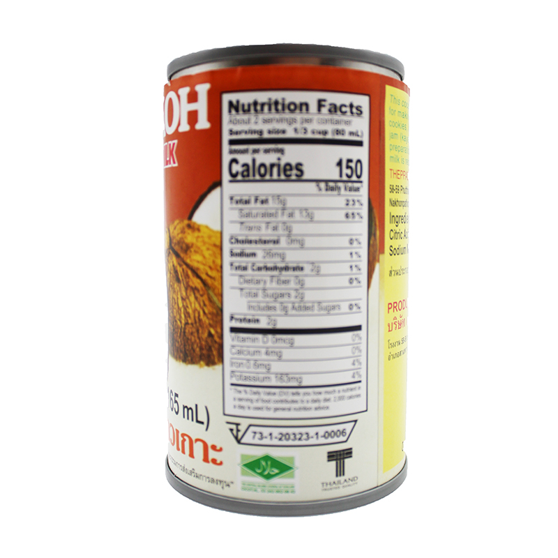 CHAOKOH Coconut Milk 5.6 Oz