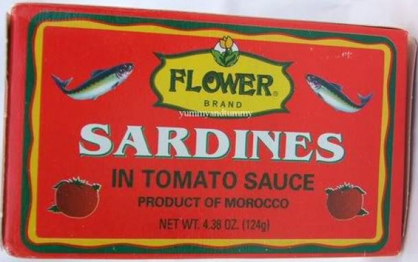 medium flower sardine in tomato sauce 4 oz 63eM7f2s2