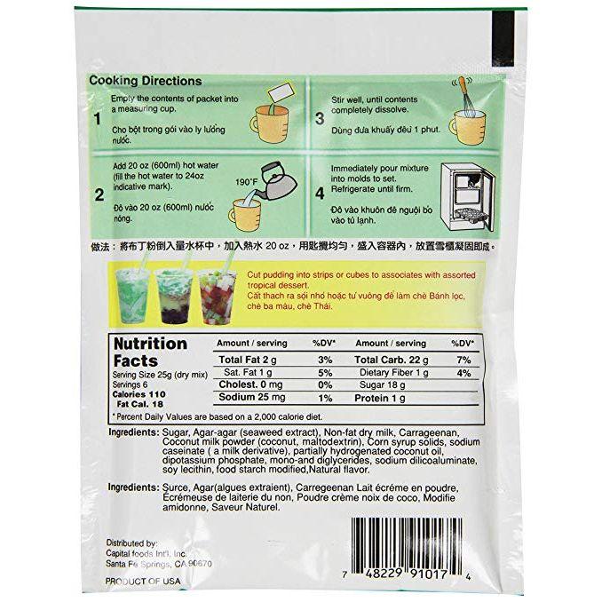 medium mei wei almond coconut milk pudding 53 oz thach sua dua almond Ok2LFiMj Q