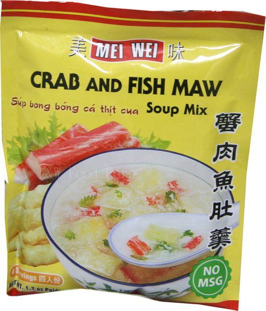Mei Wei Crab & Fish Maw Soup Mix 48 Gr
