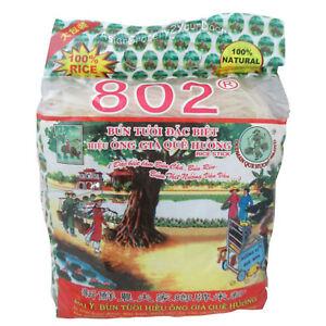 Oldman Que Huong 802 Rice Stick / Bun Tuoi Hieu Ong Gia Que Huong 2 Lbs