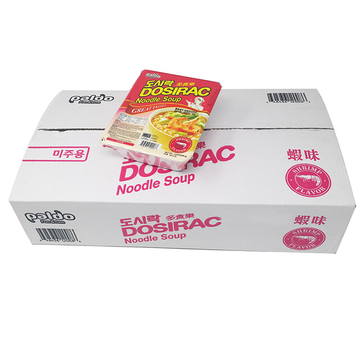 medium paldo dosirac noodle shrimp 12 x 86g TFtP4T5tV