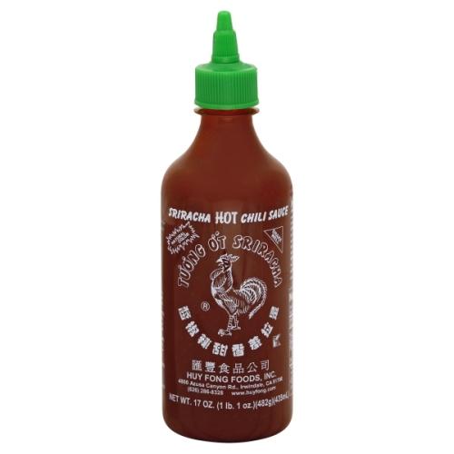 Huy Fong Sriracha Hot Chili Sauce 17 Oz