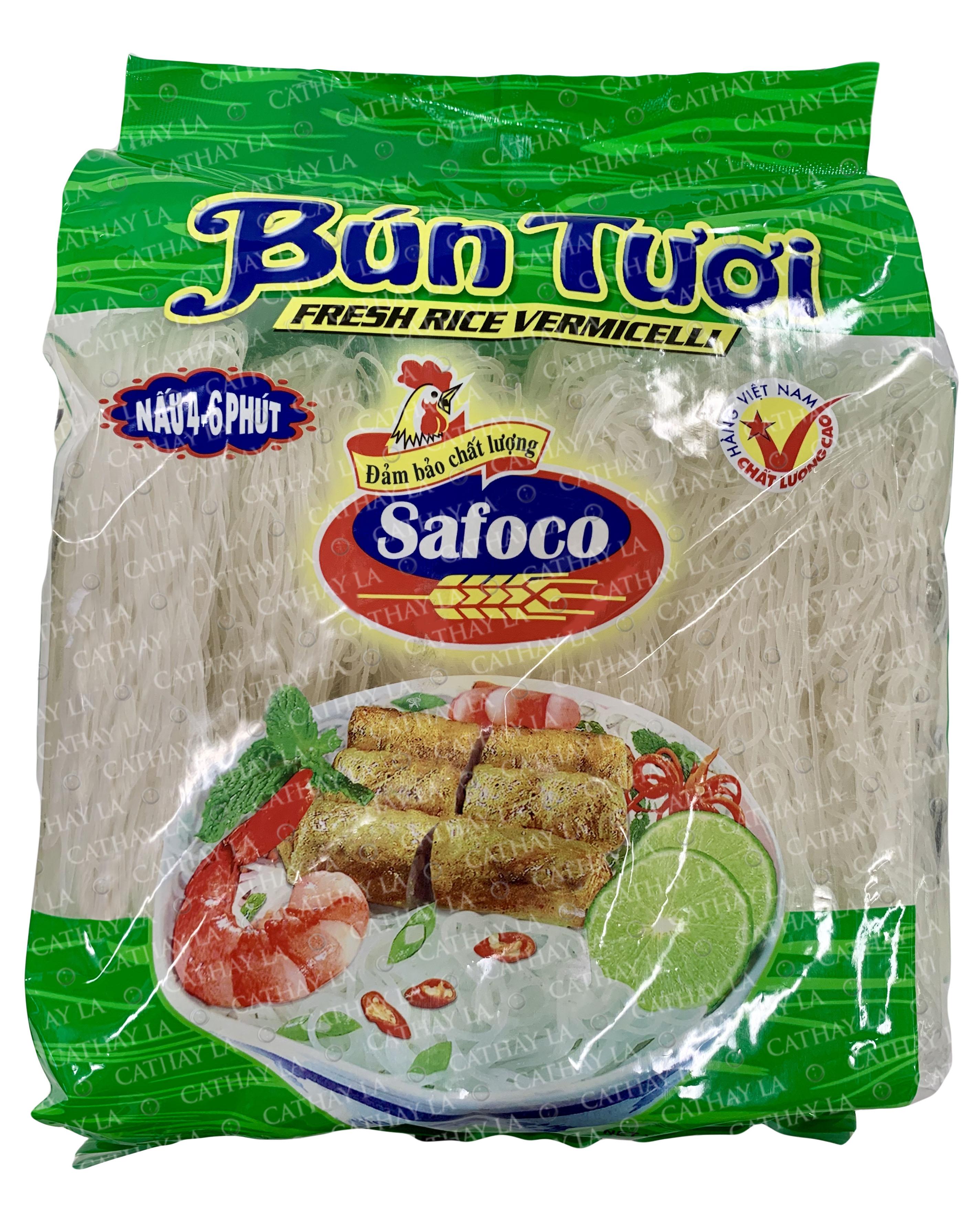 Safoco Fresh Rice Vermicelli / Bun Tuoi  908 G
