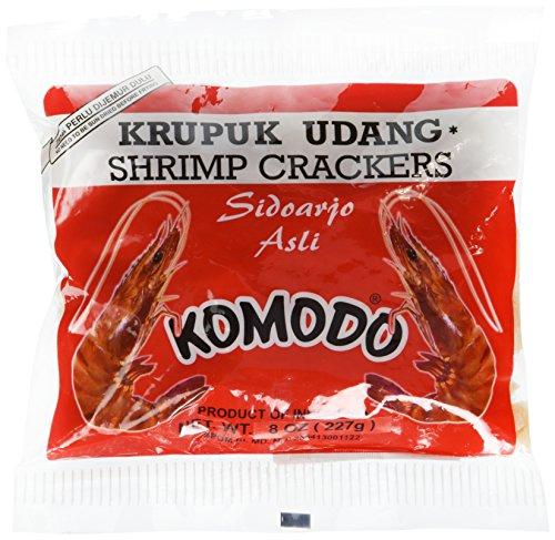 KOMODO Shrimp Crackers 8 Oz