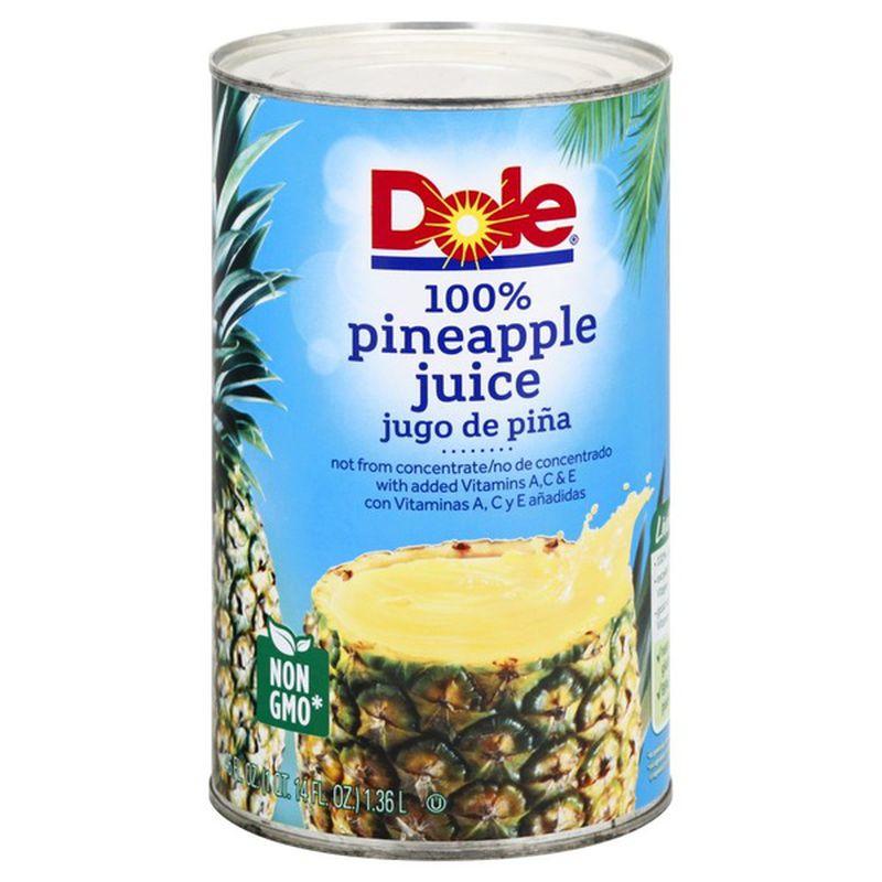 Dole Pineapple Juice 100% – 46 Oz