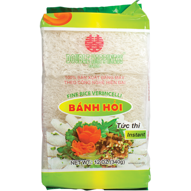 Double Happiness Rice Vermicaelli / Banh Hoi Song Hy 12 Oz