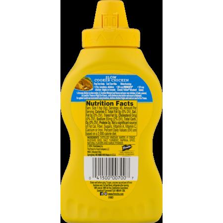 medium frenchs classic yellow mustard 8 oz CI2H5SA J