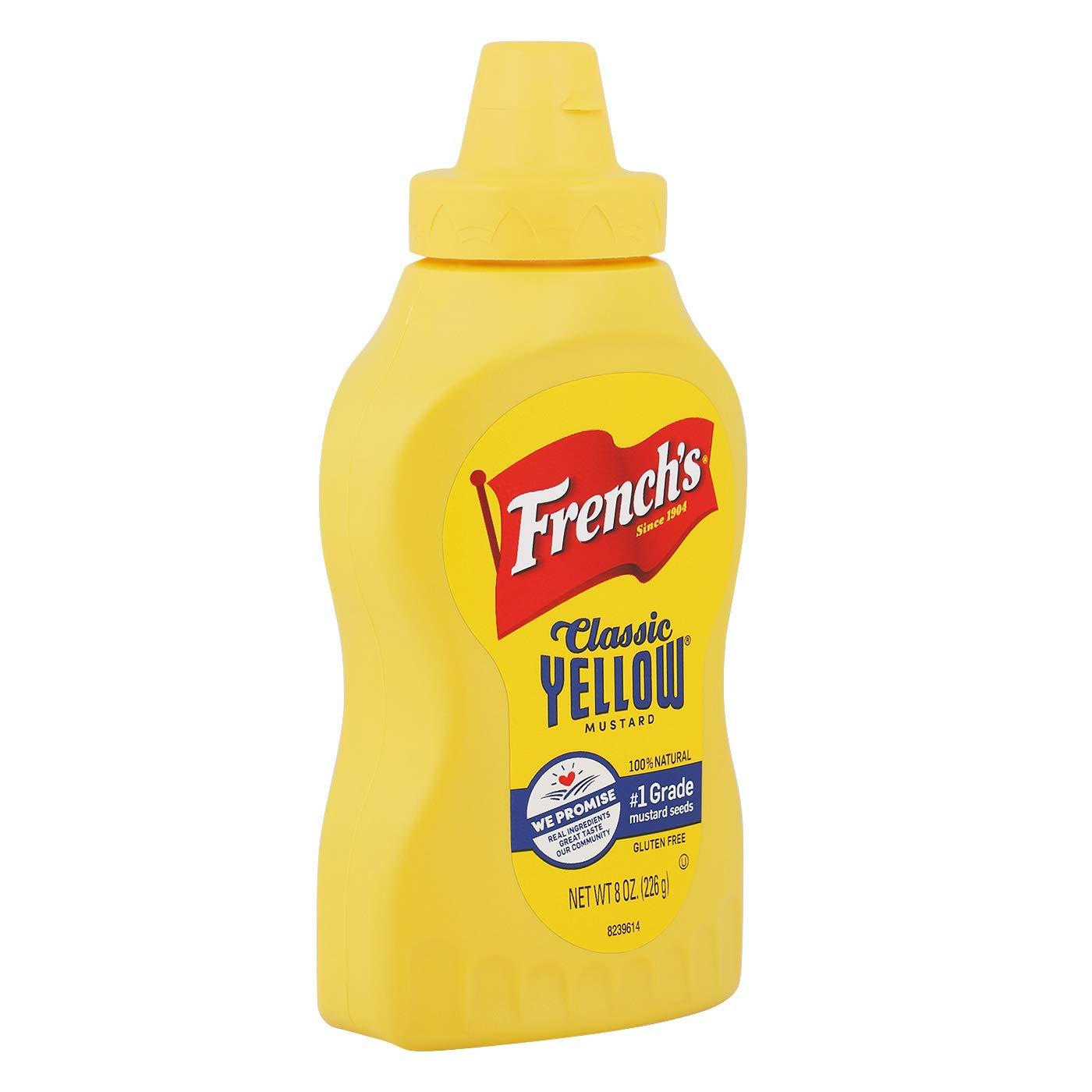 medium frenchs classic yellow mustard 8 oz gIwugJcvTg