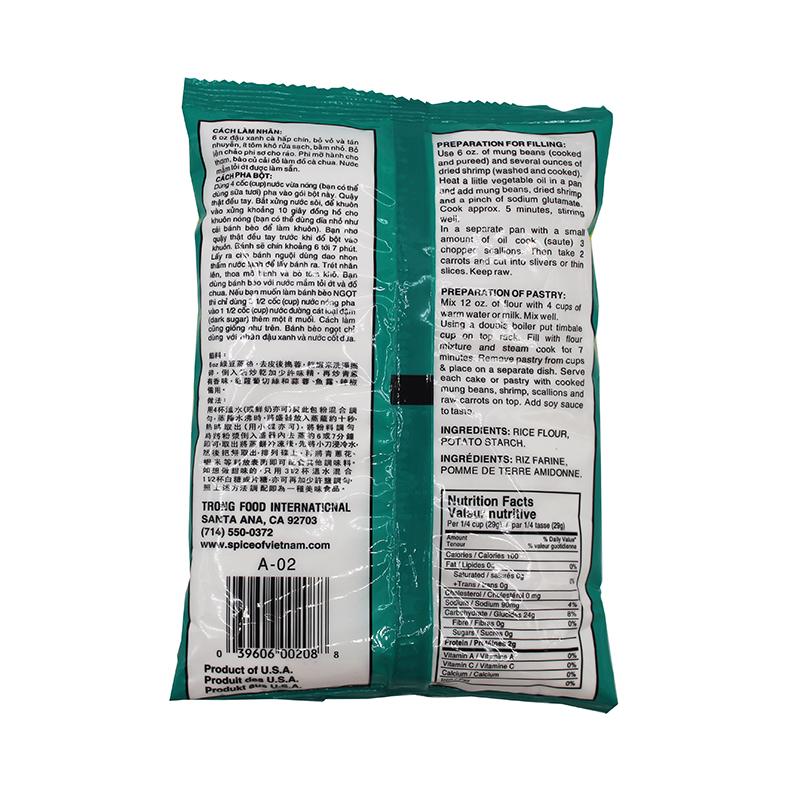 Kim Tu Thap Pyramide Flour For Steamed Rice Cakes 12 Oz / Bot Banh Beo