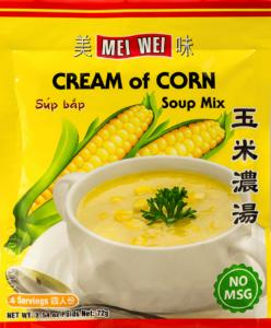 Mei Wei Cream Of Corn Soup Mix / Sup Bap 2.54 Oz