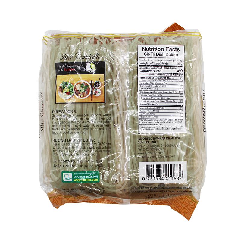 medium sunlee rice vermicelli bun bo hue 2 lb 4qH4EmuAz8
