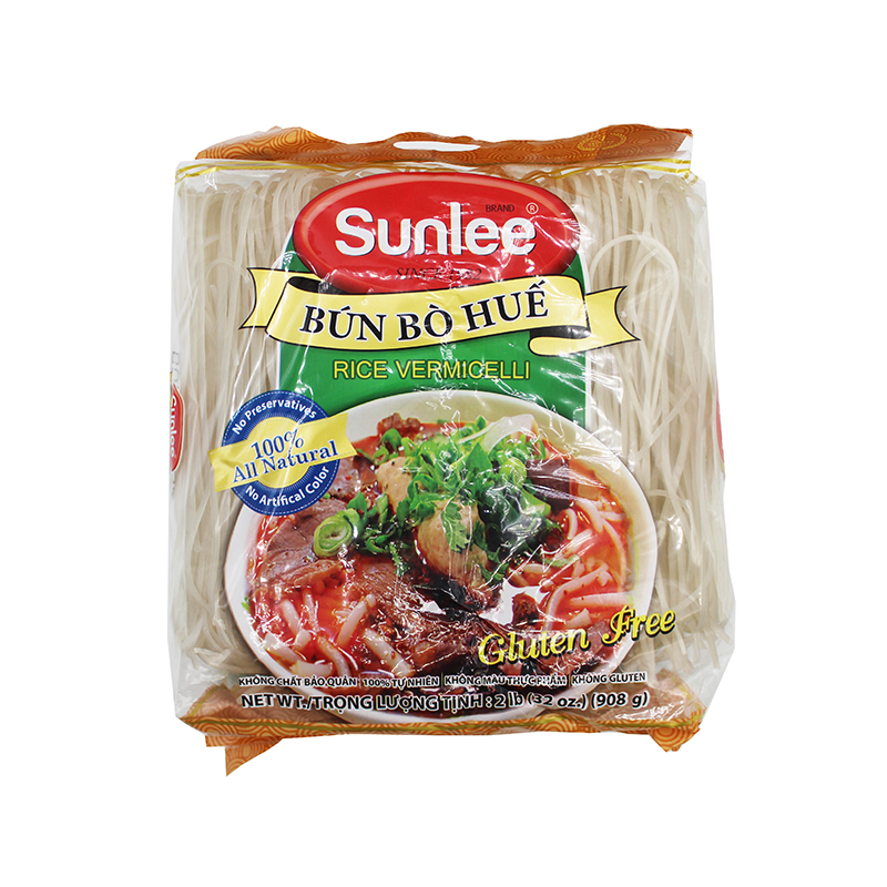 Sunlee Unbelievable Convenient Rice Vermicelli / Bun Bo Hue 2 Lb