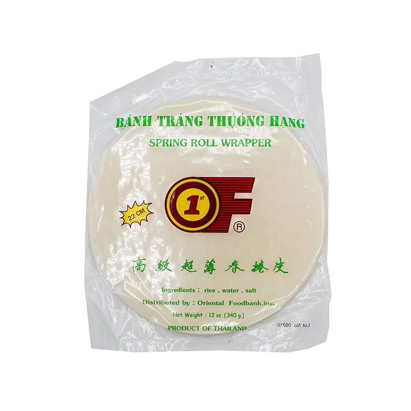 1St Of Spring Roll Wrapper/ Banh Trang Thuong Hang 12 Oz