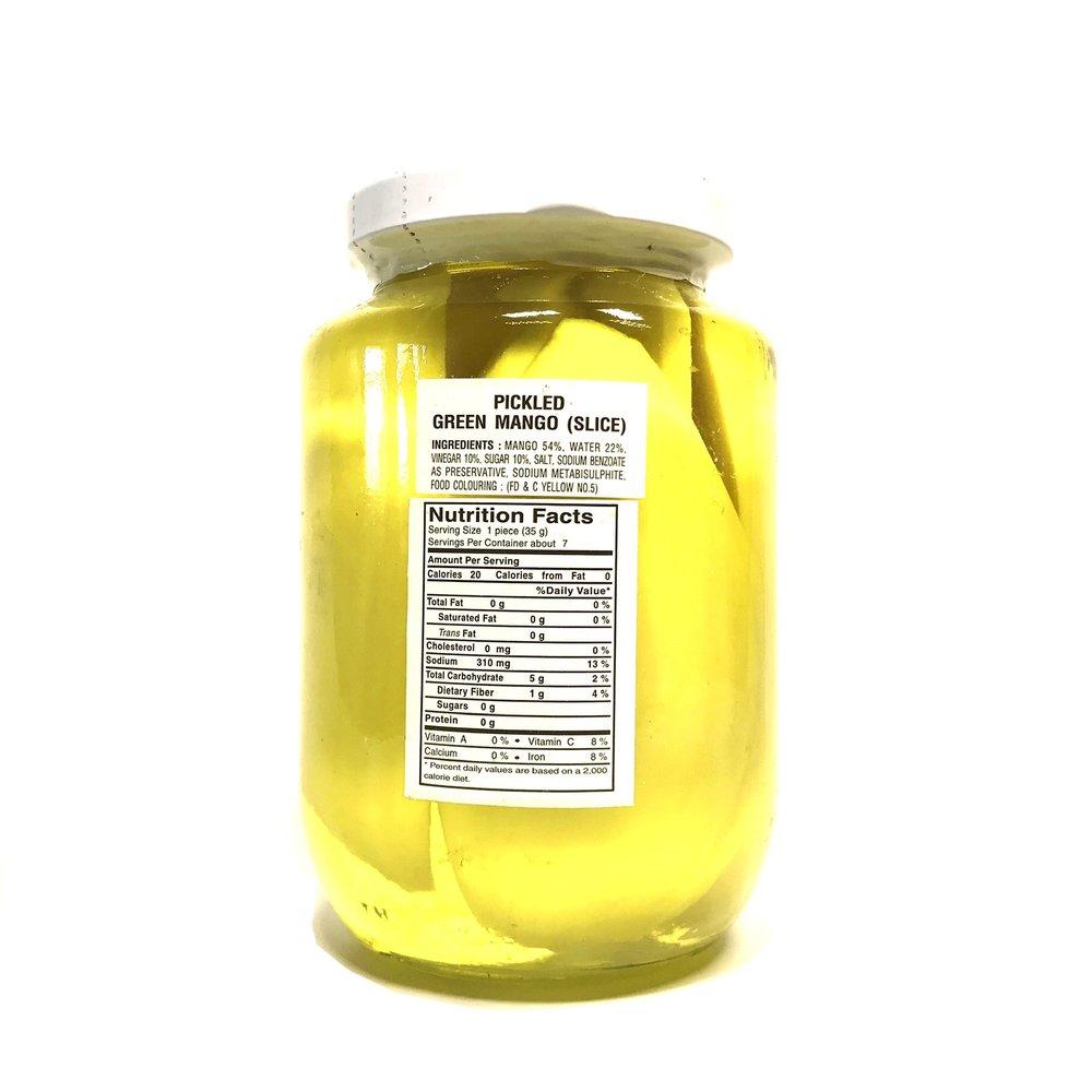 medium cock pickled green mango slice 16 oz H hpAivOLP