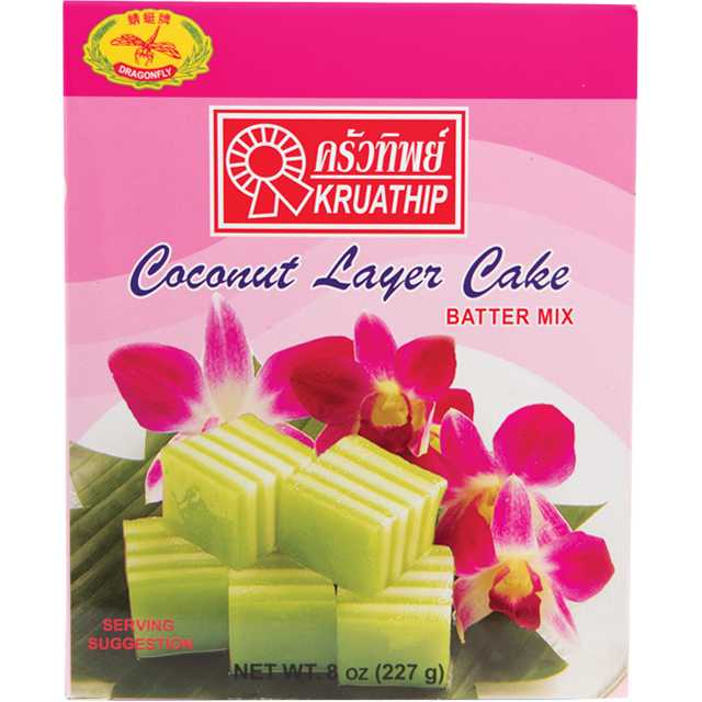 Dragonfly Coconut Layer Cakes Batter Mix 8 Oz