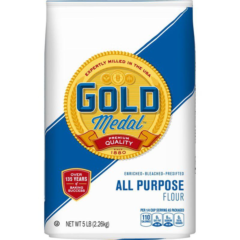 medium gold medal all purpose flour 5 lb w4KusQDke