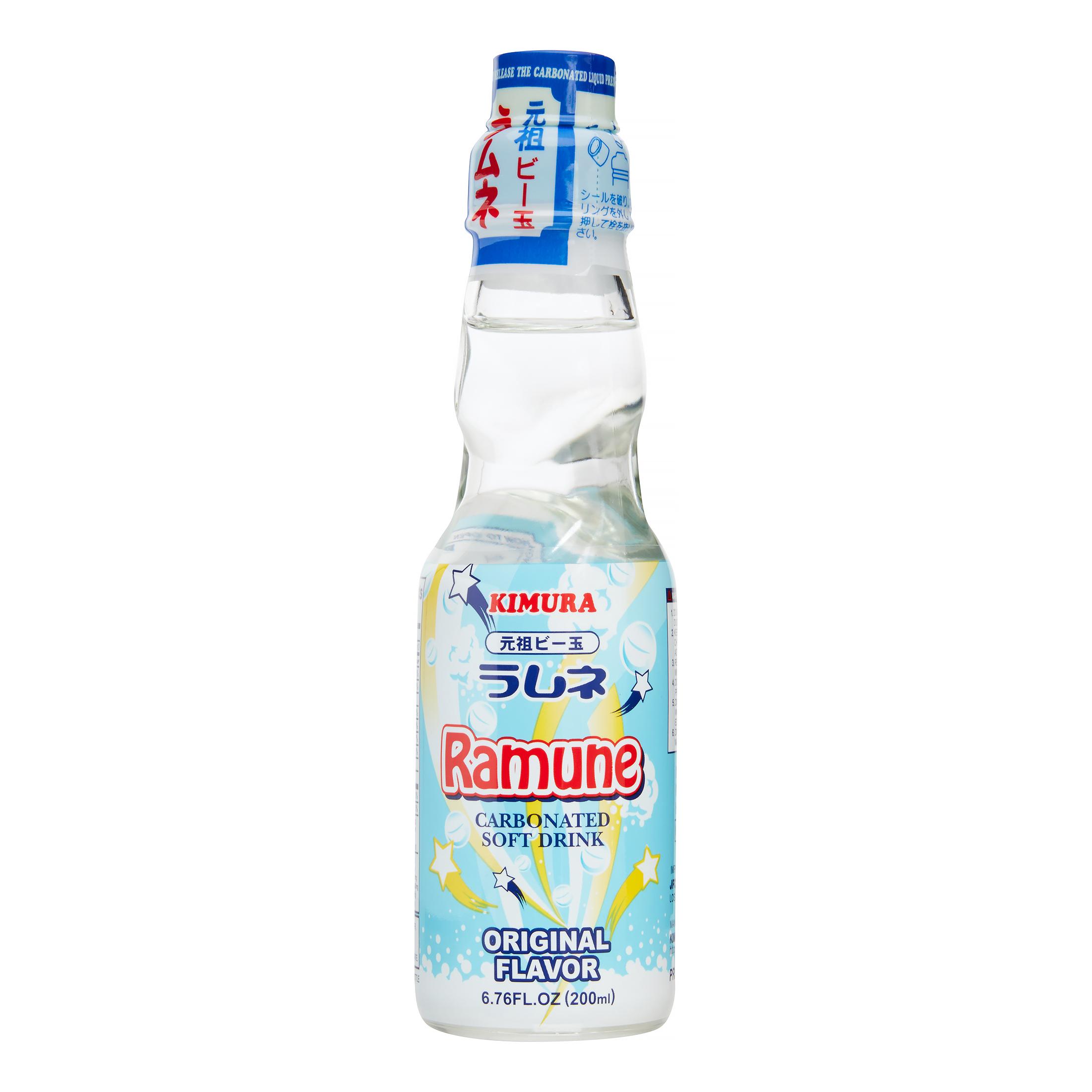 medium kimura ramune carbonated soft drink original flavor 676