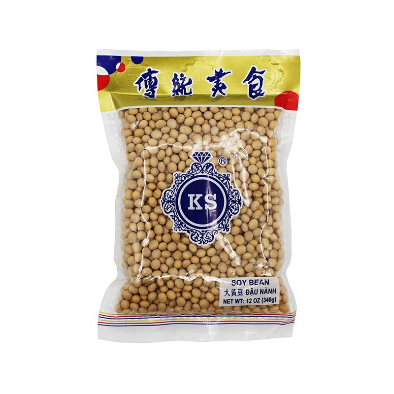 Ks Soy Beans/ Dau Nanh 12 Oz