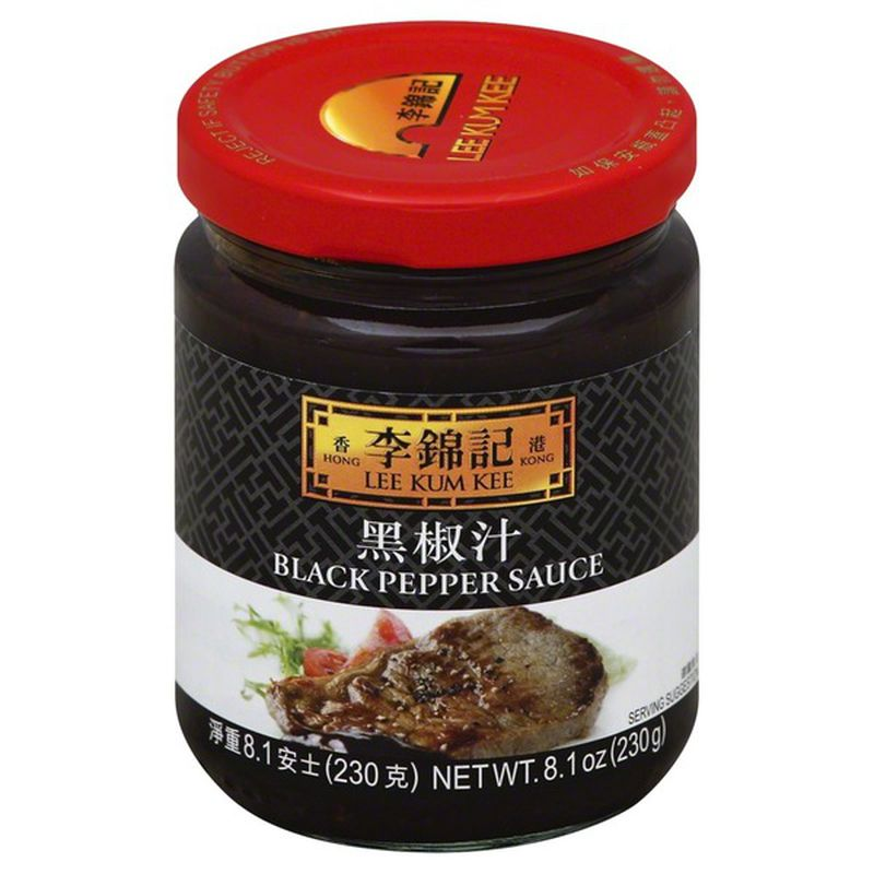 Lee Kum Kee Black Pepper Sauce 8.1 Oz