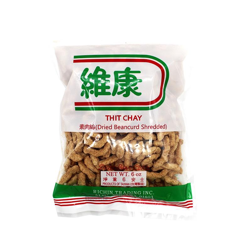 Richin Dried Beancurd Shredded 6 Oz