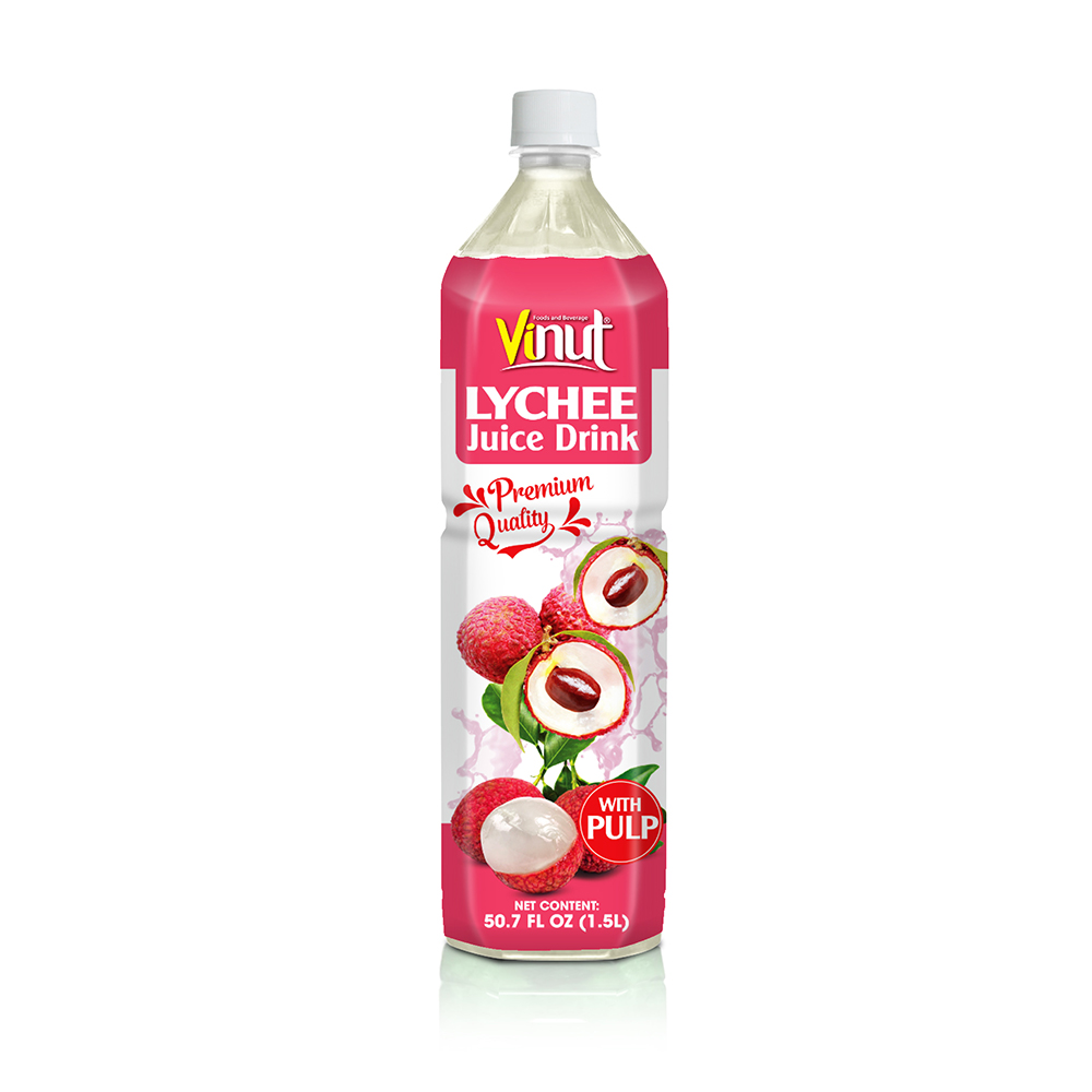 Vinut Lychee Juice Drink With Pulp 1.5L