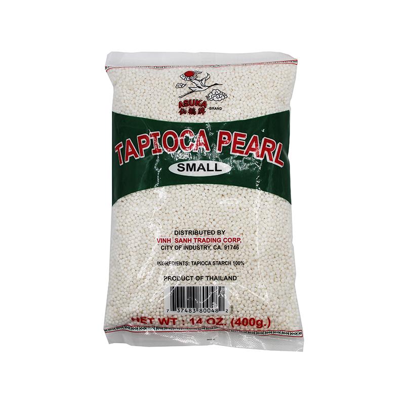 Asuka Small White Tapioca Pearl 14 Oz