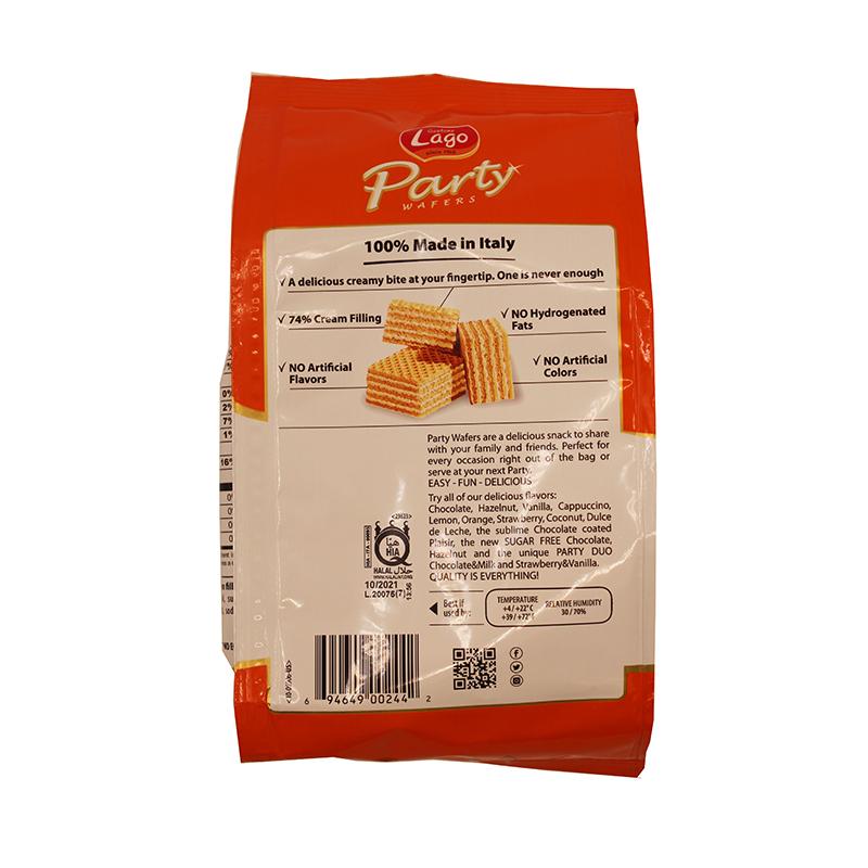 medium gastone lago party wafers orange cream filing 882 oz Pm iuvesId