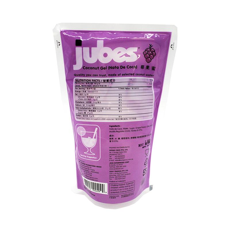 medium jubes coconut gel grape flavor 127 oz XX15coYrz