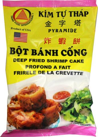 KIM TU THAP Deep Fried Shirmp Cake / Bot Banh Cong 12 OZ