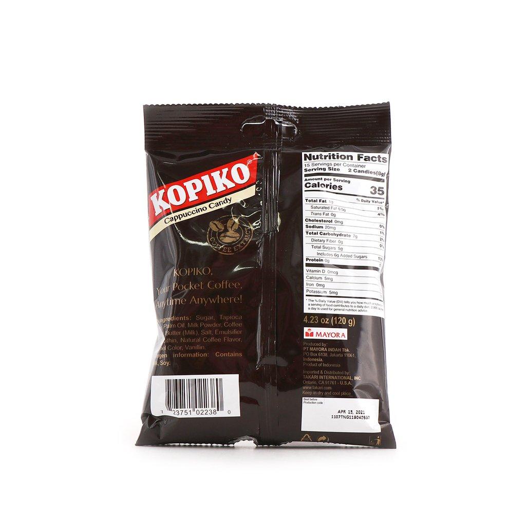 Kopiko Cappucino Candy 4.23 Oz