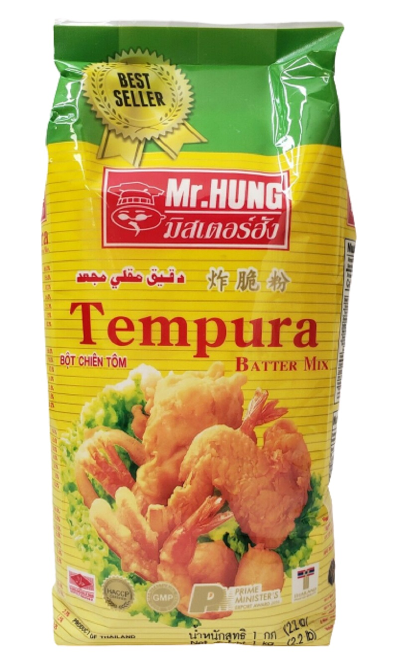Mr Hung Tempura Batter Mix 2.2 Lbs