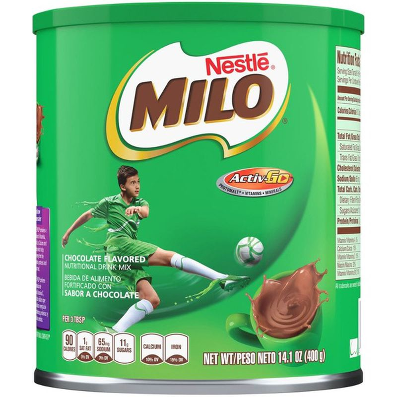 Nestle Milo Powder Drink 14 Oz