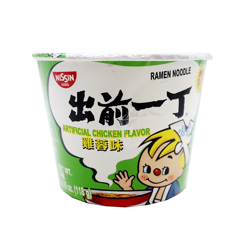 Nissin Ramen Noodle Artificial Chicken Flavor 4.16 Oz