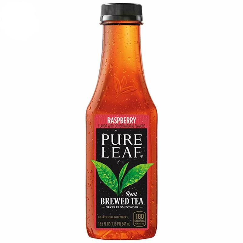 Pure Leaf  Real Brewed Tea Raspberry 18.5 Oz
