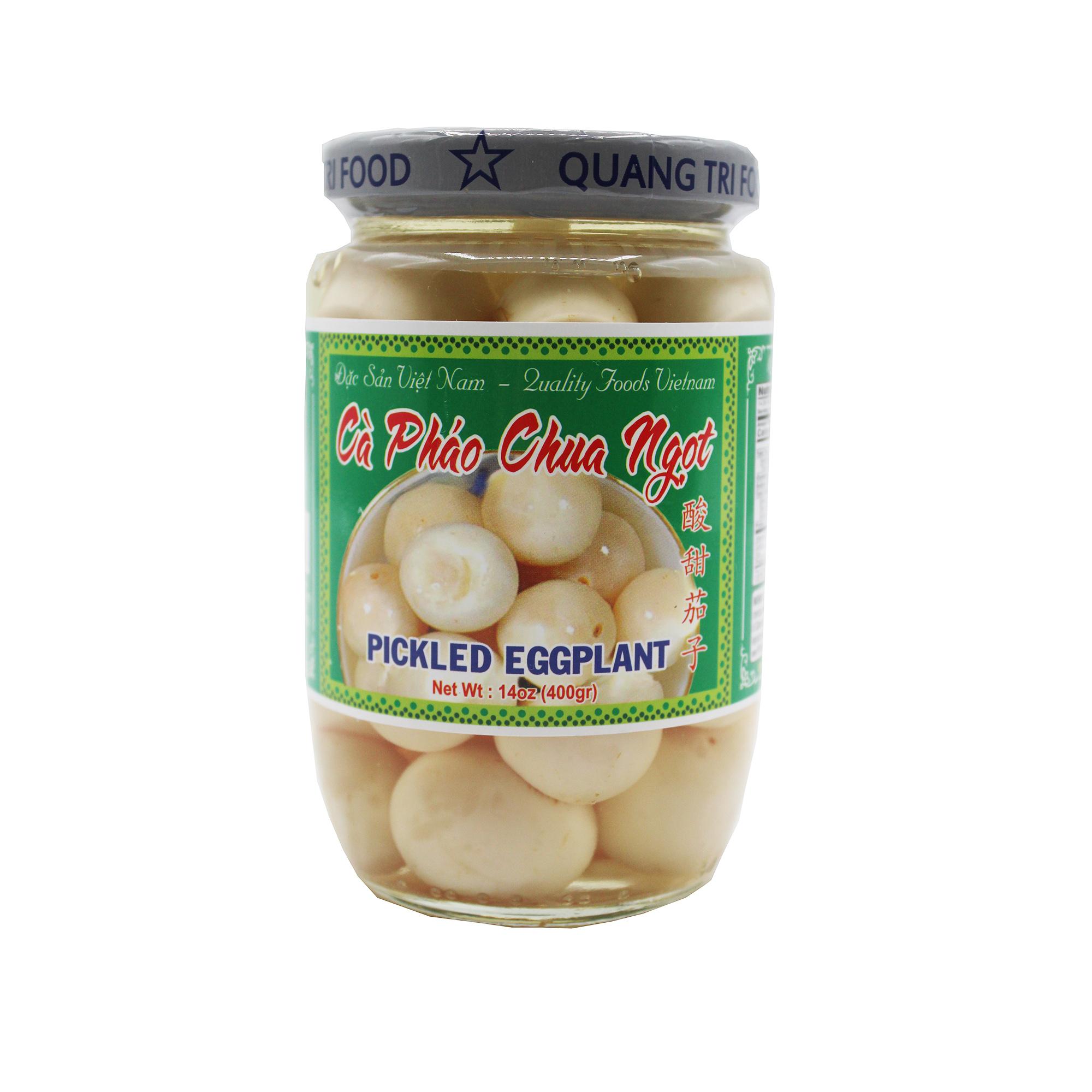 Quang Tri Food Pickle Eggplant / Ca Phao Chua Ngot 14 Oz