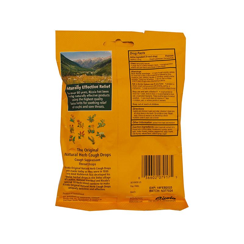 medium ricola original natural herb cough drop 32 oz 2CDr8kI VC