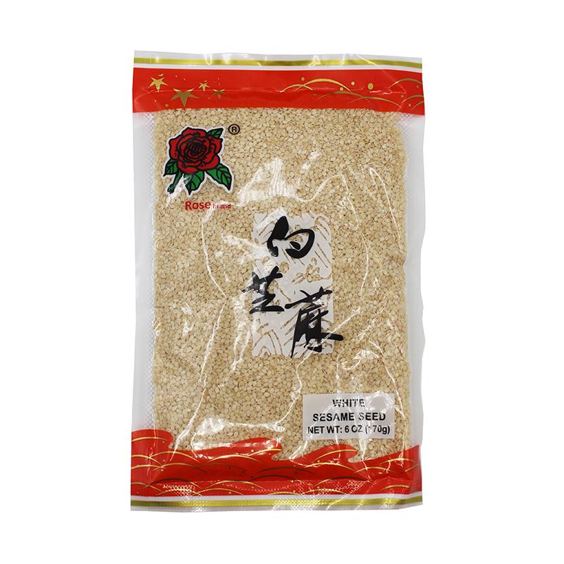medium rose white sesame seed 6 oz y3Y02Yyn