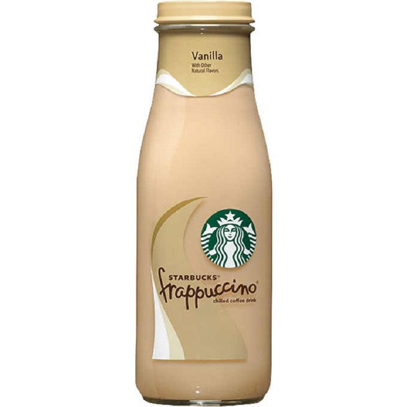 Starbucks Frappuccino Vaniila 13.7 Oz