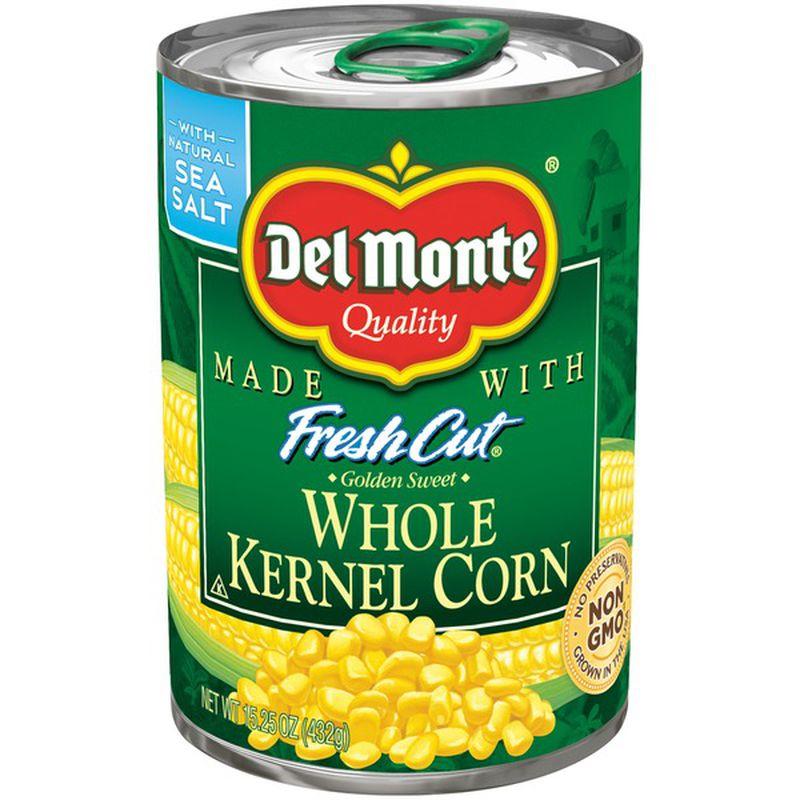 DEL MONTE Fresh Cut Whole Kernel Corn 15.25 OZ