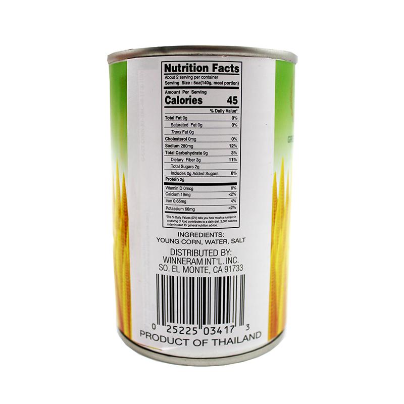 medium green fresh whole young corn 15 oz 2EIKo5GHf