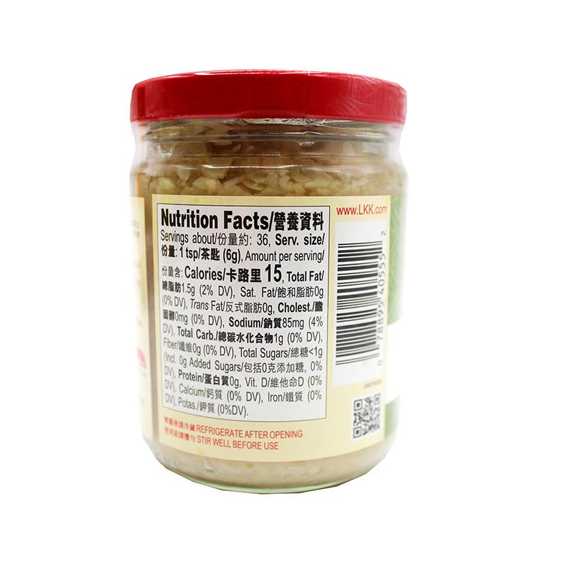 medium lee kum kee minced garlic 75 oz BF9FeshTe